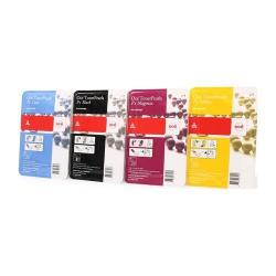 Картриджи Oce ColorWave 500 Cyan/ Magenta/ Yellow/ Black, 5 комплектов по 4 цвета х 500г.(Артикул 39805005)