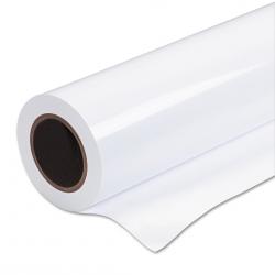 Бумага рулонная 1050*100*76/130 гр./м.2/мел. глянец