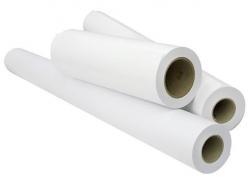 Бумага рулонная для широкоформатных плоттеров и МФУ