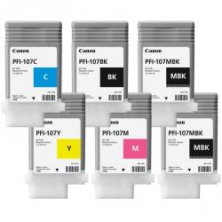 Комплект картриджей Canon PFI-107