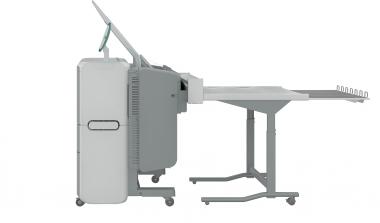 МФУ OCE PlotWave 345 +укладчик чертежей (вид сбоку)